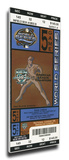 2003 World Series Mega Ticket - Florida Marlins Stretched Canvas Print