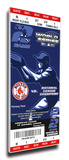 2004 World Series Mega Ticket - Boston Red Sox Stretched Canvas Print