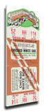 Anaheim Angels 1966 Opening Day / First Game at Anaheim Stadium Mega Ticket Stretched Canvas Print