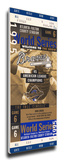 1995 World Series Mega Ticket - Atlanta Braves Stretched Canvas Print
