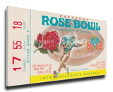 1976 Rose Bowl Mega Ticket - UCLA Bruins Stretched Canvas Print