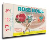 1976 Rose Bowl Mega Ticket - UCLA Bruins Stretched Canvas Print