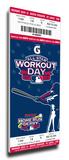 2009 MLB Home Run Derby Mega Ticket, Cardinals Host - Winner Prince Fielder, Brewers Stretched Canvas Print