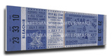 1959a MLB All-Star Game Mega Ticket - Pirates Host - Forbes Field Stretched Canvas Print