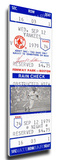 Carl Yastrzemski 3,000 Hit Mega Ticket - Boston Red Sox Stretched Canvas Print