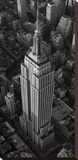Empire State Building, NYC Stretched Canvas Print by Cameron Davidson