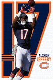 Chicago Bears - A Jeffery 14 Plakater