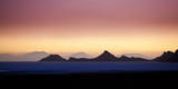 Dusk on the Edge of the Salar De Uyuni on Bolivia's Altiplano Photographic Print by Sergio Ballivian