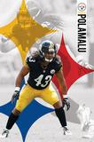 Pittsburgh Steelers - T Polamalu 14 Affiche