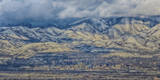 Downtown Salt Lake City, Utah Taken from across the Valley from the Baccus Highway Photographic Print by Mitch Johanson