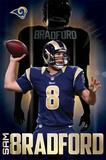St. Louis Rams - S Bradford 14 Plakater