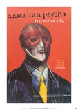 American Psycho by Bret Easton Ellis Póster