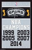 San Antonio Spurs - Champions 14 Affiches
