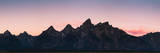 Mountain Range in Grand Teton, Wyoming Photographic Print by Patrick Brandenburg