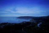 Avila Beach, California Seen at Night Photographic Print by Daniel Kuras