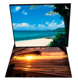The North Shore of Oahu & Sunset on the Ocean with Palm Trees, Oahu, HI Set Prints by Bill Romerhaus