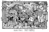 Party Animals Print by Howard Teman