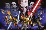 Star Wars Rebels - Group Prints