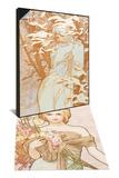 Winter & Spring Set Prints by Alphonse Mucha