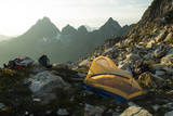 Backpacking in the North Cascades, Washington Photographic Print by Steven Gnam