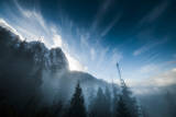 Mount Index Rises Above the Mist in Washington Photographic Print by Steven Gnam