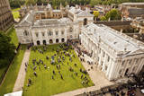Aerial View of the Senate House of the University of Cambridge in England Photographic Print by Carlo Acenas