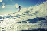 A Male Surfer Enjoys Surfing in California Photographic Print by Daniel Kuras