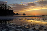 The Setting Sun at Sunset Bay State Park, Oregon Photographic Print by Patricia Davidson