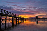 """""""The Hollering Place"""" During Sunset in Coos Bay, Oregon Photographic Print by Patricia Davidson"""