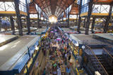 Great Market Hall, the Largest Flea Market and Farmers Market in Budapest, Hungary Photographic Print by Carlo Acenas