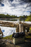 Fly Fishing Gear Stacked Up and Ready to Go Photographic Print by Matt Jones