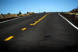 Lonely Highway 97, Central Oregon Photographic Print by Bennett Barthelemy