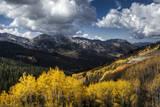 Brighton Ski Resort During Fall in the Wasatch Mountain Range in Utah Photographic Print by Patrick Brandenburg