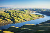Aerial View of the Snake River in Eastern Washington Photographic Print by Ben Herndon