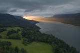 Sunrise View of the Columbia River from Cape Horn in Washington Photographic Print by Patricia Davidson