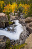 The Famous Falls in Rocky Mountain National Park, Colorado Photographic Print by Jason J. Hatfield