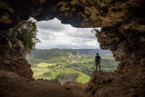 The Rio Grande De Arecibo Valley from Cueva Ventana Atop a Limestone Cliff in Arecibo, Puerto Rico Photographic Print by Carlo Acenas