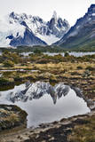 Cerro Torre Reflected, Patagonia Argentina Photographic Print by Bennett Barthelemy