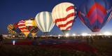 Albuquerque International Balloon Fiesta 2013 Dawn Patrol Preparing for Lift Off Photographic Print by Greg Boreham