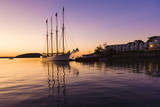 Sunrise on Frenchman Bay, Bar Harbor, Maine Photographic Print by Sue Anne Hodges