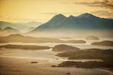 Aerial Shot of Tofino with Clayoquot Sound, British Columbia, Canada Photographic Print by Arnab Banerjee