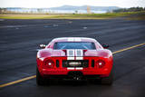 The Back of a 550 Horsepower Ford Gt Supercar on San Juan Island in Washington State Photographic Print by Ben Herndon