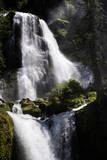 A View of Falls Creek Falls in Washington Photographic Print by Bennett Barthelemy