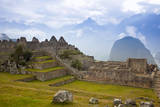 View of Machu Picchu in the Vilcanota Mountain Range in South-Central Peru Photographic Print by Sergio Ballivian