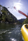 White Water Rafting Along the Wild and Scenic Rogue River in Southern Oregon Photographic Print by Justin Bailie