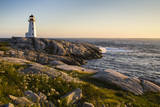 Peggy's Cove Lighthouse, Nova Scotia, Canada Photographic Print by Sue Anne Hodges
