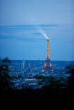 View of the Eiffel Tower from the Sacre Coeur Photographic Print by Matt Dames