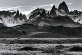 Sunset over the Cerro Torre Mount Fitzroy Spires in Los Glacieres National Park, Argentina Photographic Print by Jay Goodrich
