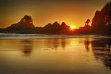 Cox Bay Sunset, Tofino, British Columbia, Canada Photographic Print by Arnab Banerjee