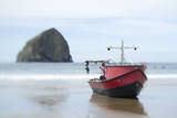 Dory Boat in Pacific City, Oregon Photographic Print by Justin Bailie
